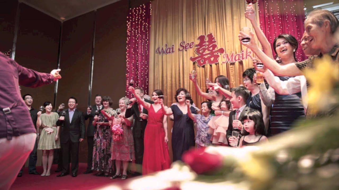 Malaysia Chinese Wedding Maik And Wai See Montage Sde