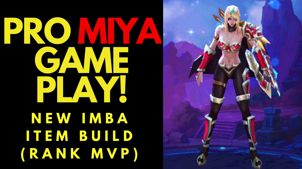 Mobile Legends Miya Build Rank Full Gameplay NEW IMBA