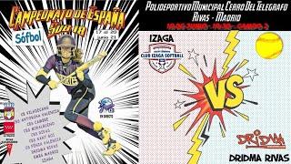 IZAGA  vs DRIDMA RIVAS CDAD. DEP. - 19:30 - GRUPO B - FASE CLASIFICACIÓN