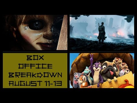 Annabelle Creation Topples The Dark Tower and Animals vs Emojis! | Box Office Breakdown