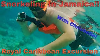 Longer version: Exploring the Coral Reefs of Jamaica! on our Honeymoon Cruise! Snorkeling Excursion
