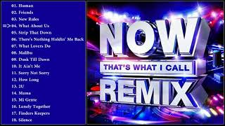 Various Artists - NOW That's What I Call Remix 2018