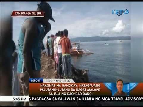 Naagnas na bangkay, natagpuang palutang-lutang sa dagat