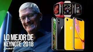 Lo MEJOR de la Keynote 2018 en 3 minutos: Nuevos iPhone XS, XS MAX, XR, y Apple Watch Series 4