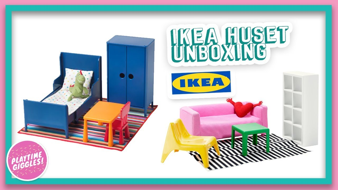 Ikea Huset Ikea Doll Bed Dollhouse Furniture Sets Unboxing