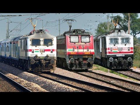 ELECTRIFYING Semi High Speed Trains | Delhi
