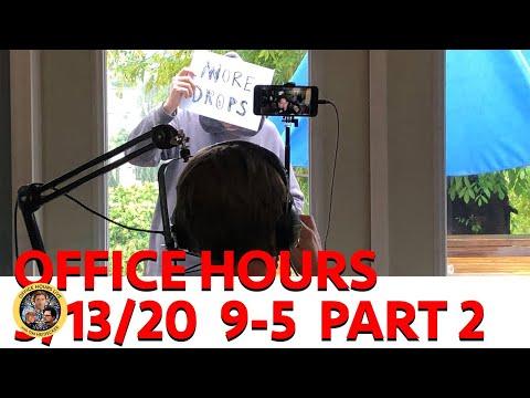 OFFICE HOURS MARATHON - PART 2 (3/13/2020) w/ Bon Iver, John C. Reilly, Fred Armisen, Kyle Mooney