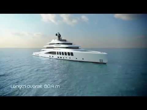 Project Skyback with Crystal Beach, Length overall 80 m