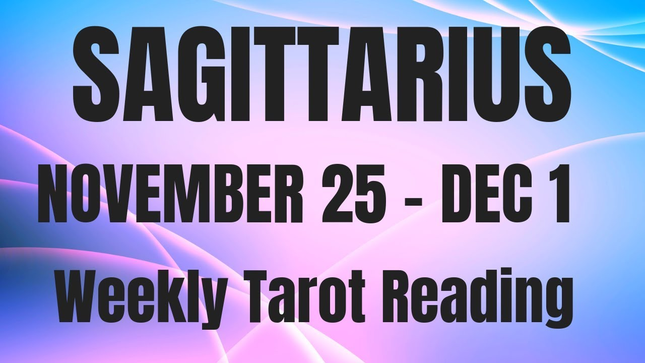 horoscope sagittarius november 15 2019
