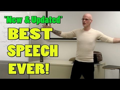 Best Speech You WIll Ever Hear (Updated) -Gary Yourofsky