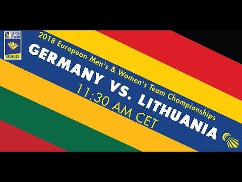 2018 EWTC Germany-Lithuania (Court 6)