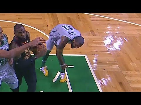 Kyrie Irving Injury - Ankle Injury! Cavaliers vs Celtics February 11, 2018
