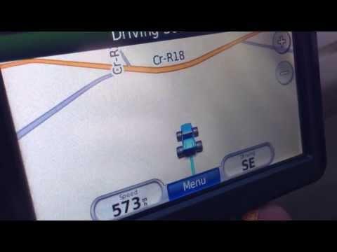 GPS on a plane. 500 MPH