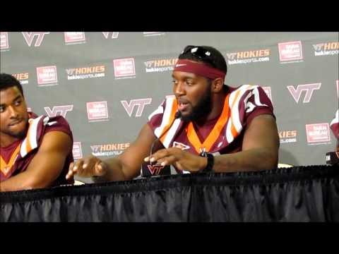 Virginia Tech LB Bruce Taylor talks about sitting out 2011 with an injury