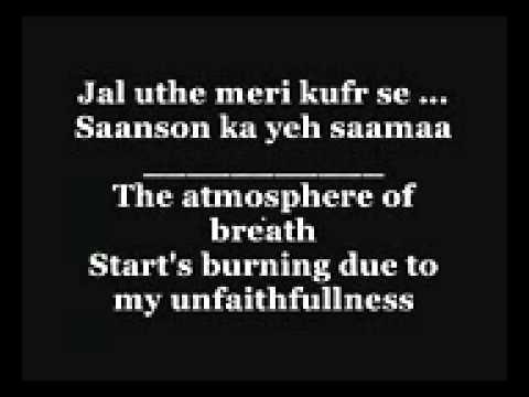 Kurban hua full song with lyrics and english translation