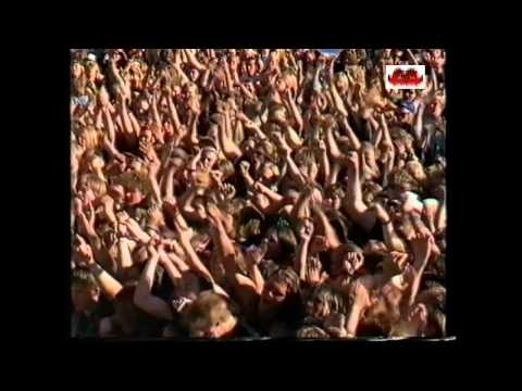 SEPULTURA live Finland 1991 GIANTS OF ROCK FESTIVAL (HD)