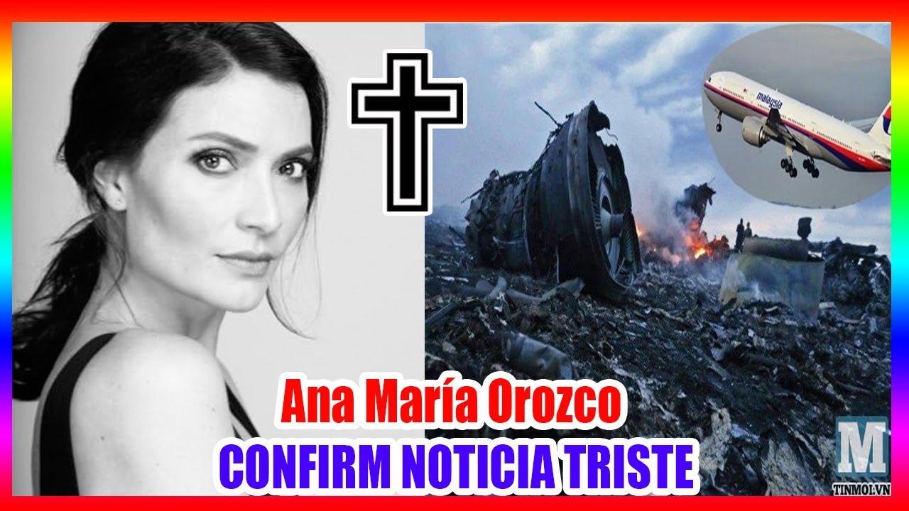 Download CONFIRM | La inesperada partida de la bella actriz Ana María Orozco ha hecho llorar a México.