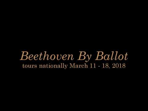 Selby & Friends Tour 1, 2018: Beethoven by Ballot