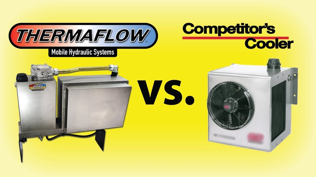 Thermaflow Hydraulic Cooler : Thermaflow ss hydraulic oil cooler vs competitor s