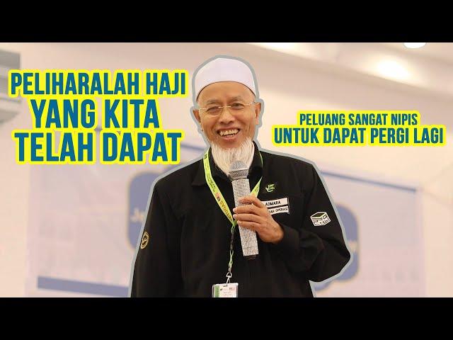 Pelihara Haji Yang Telah Diperoleh