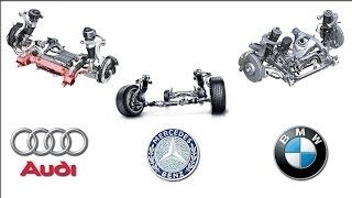 Audi vs BMW vs Mercedes Benz Active/Adaptive Suspension Technology