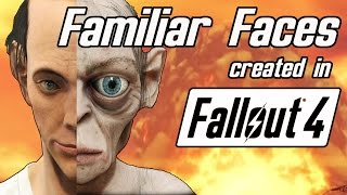 Familiar Faces #2 | Fallout 4 Character Creator