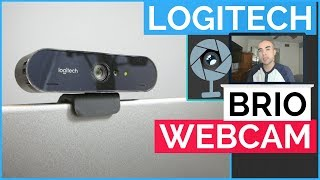 Logitech Brio 4K Webcam Review - Best Webcam For YouTube And Gaming?