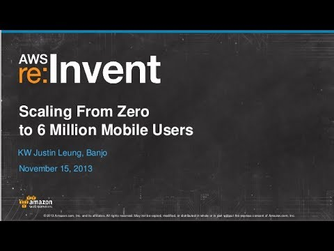 Cloud Connected Devices on a Global Scale (CPN303) | AWS re:Invent 2013