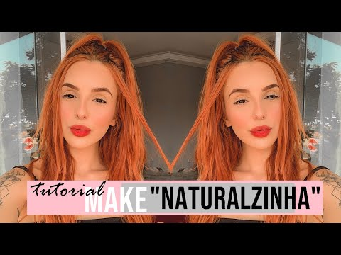 "MAKE ""natural"" TUMBLR GIRL - Giovanna Com Dois N"