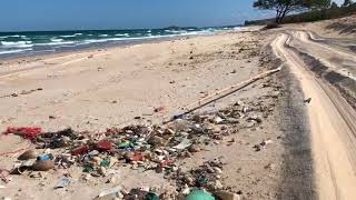 Remote Northern Territory Beach Spoiled by Sea Litter