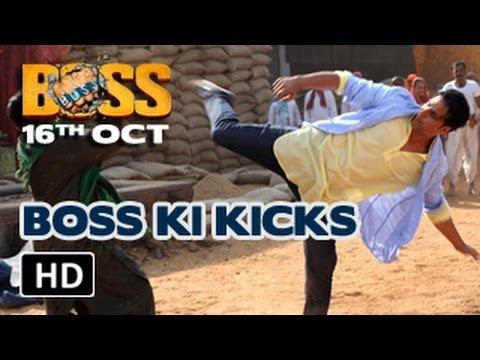 Akshay Kumar  BOSS ki killer kicks  BOSS 2013