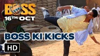 Akshay Kumar | BOSS ki killer kicks | BOSS 2013