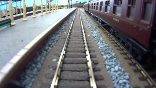 North East model railway - DMU Cab Ride, callin