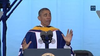 President Obama Delivers the Commencement Address at Howard University