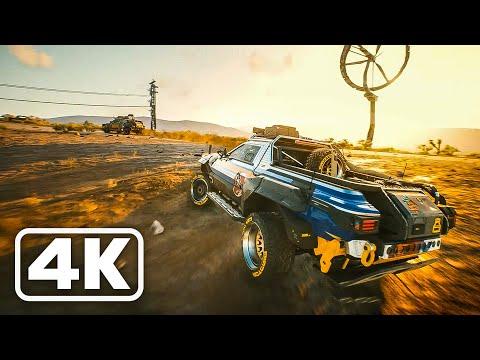 CYBERPUNK 2077 NEW Gameplay Demo 8 Minutes (4K 60FPS)
