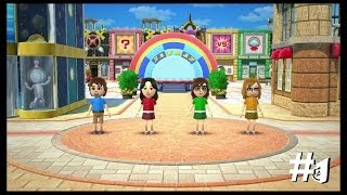 Wii Party U TV Party Showcase - Mii Fashion Plaza (4 Player) [1/5]