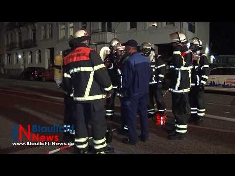 Gefahrguteinsatz für die Feuerwehr Hamburg   Stresemannstraße gesperrt