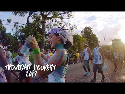 TRINIDAD J'OUVERT 2017 & CHILL WEEKEND