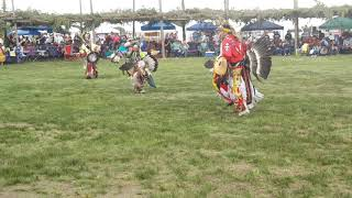 TAOS PUEBLO POW WOW 2019 DAY 2   Young Men Traditional -2