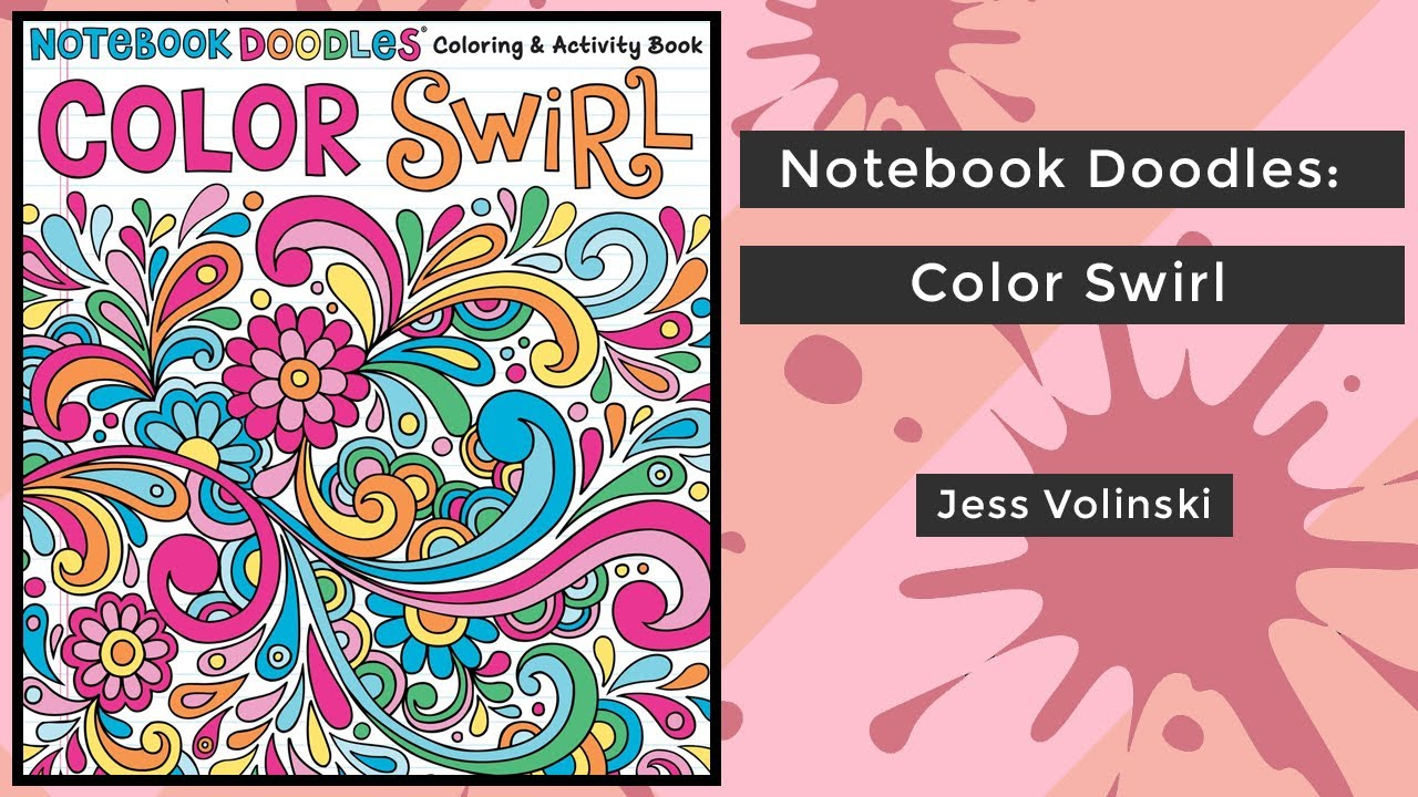 Notebook Doodles Color Swirl