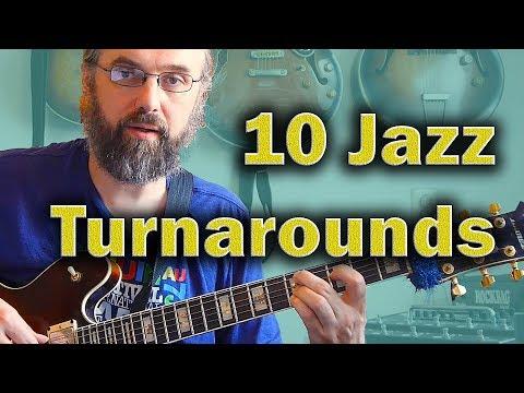 Jazz Chords:I VI II V turnaround in 10 variations