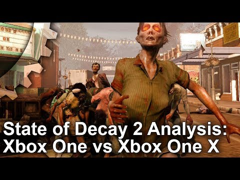 Digital Foundry: State of Decay 2 тормозит на Xbox One X сильнее, чем на Xbox One