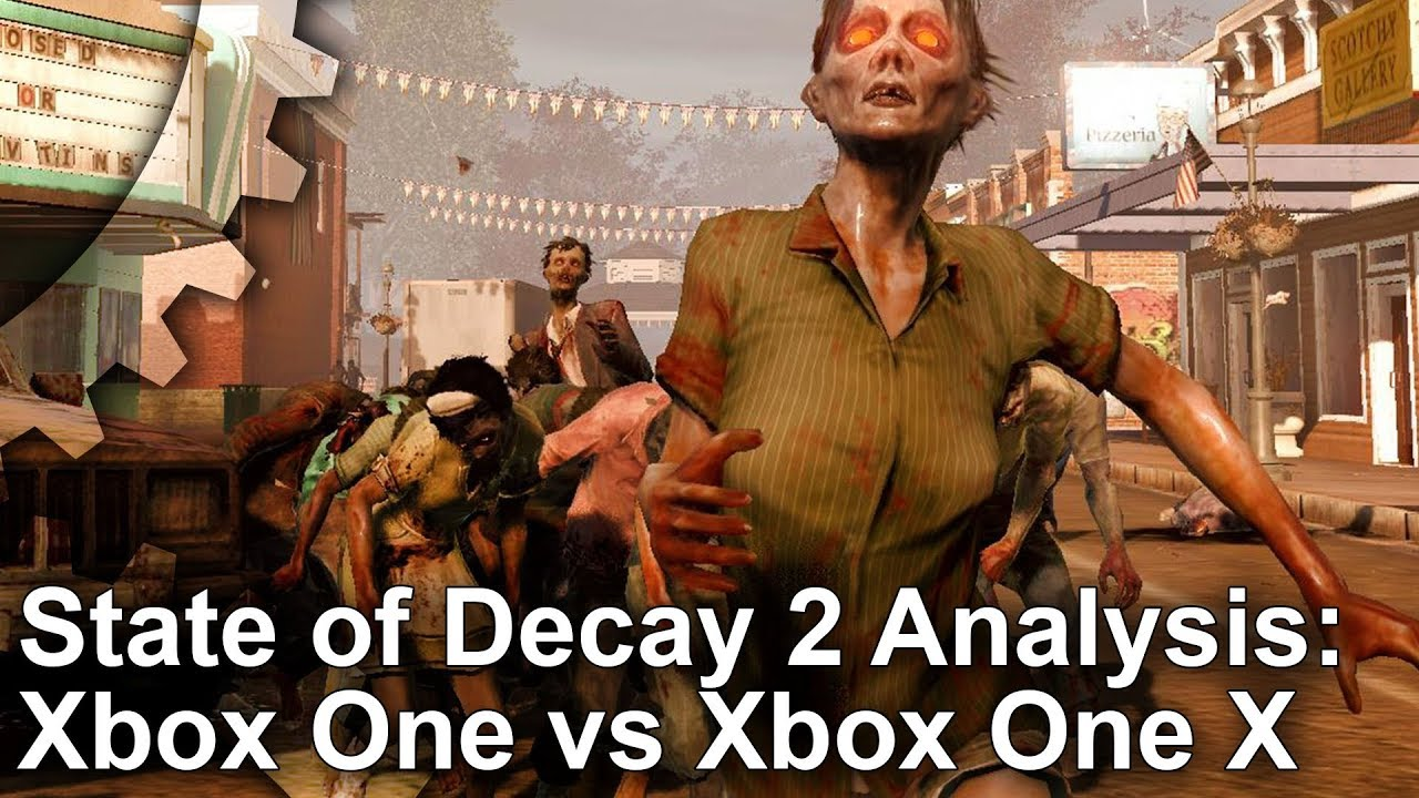 State of Decay 2: Xbox One X looks better than S - but frame