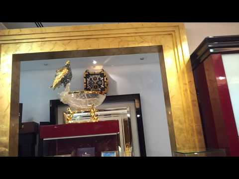 Selling Gold Falcon for 4 Million AED at Emirates Palace Abu Dhabi