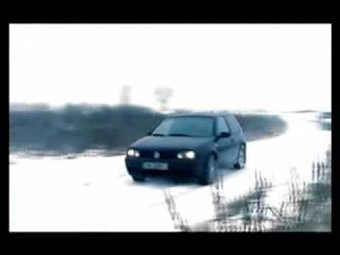vw golf 4 snow 2009 youtube. Black Bedroom Furniture Sets. Home Design Ideas