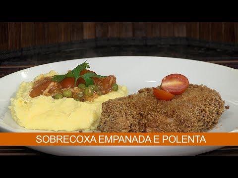 SORECOXA EMPANADA E POLENTA