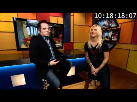 Brooke Miller performs on Montreal's MusiquePlus/MusiMag