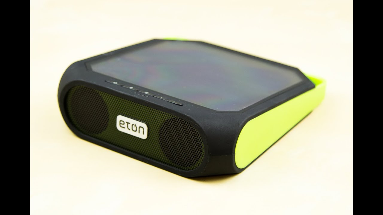 Eton Rugged Rukus Solar Speaker Review