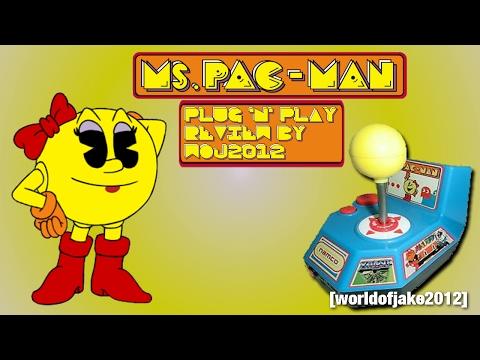 Namco Classics: Ms Pac-Man By Jakks Pacific (Plug 'n' Play) Review