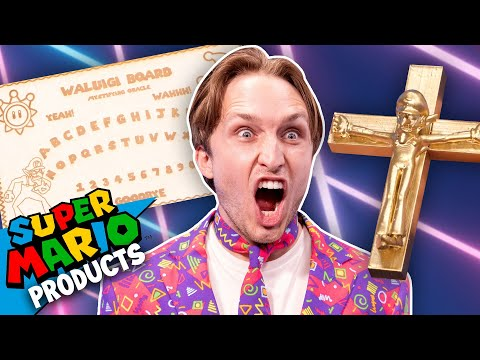 Super Mario Merch, but cursed (What're Those?!)